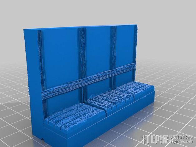 OpenForge都铎王朝墙砖模型 3D模型  图12