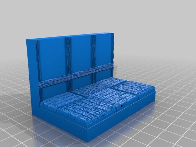 OpenForge都铎王朝墙砖模型 3D模型  图13