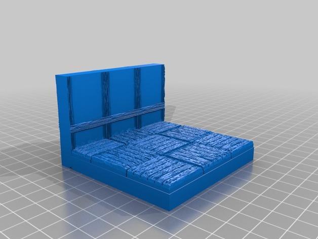 OpenForge都铎王朝墙砖模型 3D模型  图14