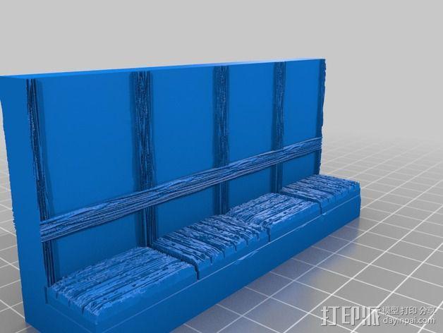 OpenForge都铎王朝墙砖模型 3D模型  图16
