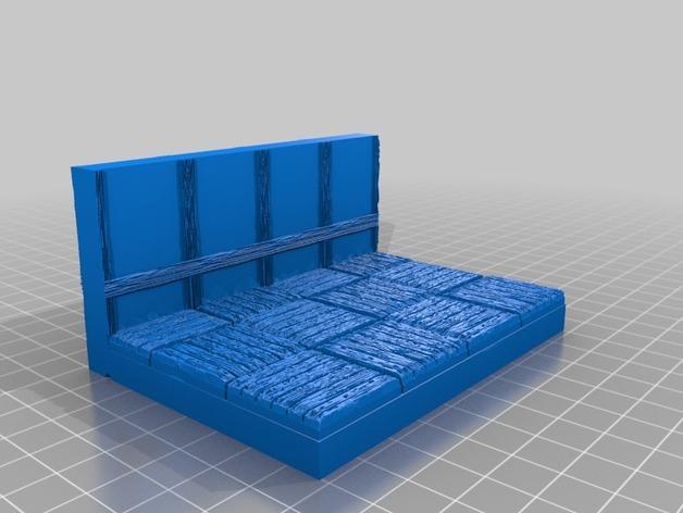 OpenForge都铎王朝墙砖模型 3D模型  图18