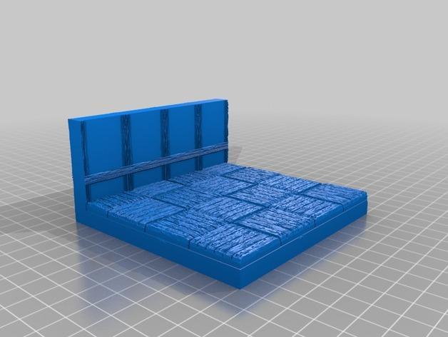 OpenForge都铎王朝墙砖模型 3D模型  图19