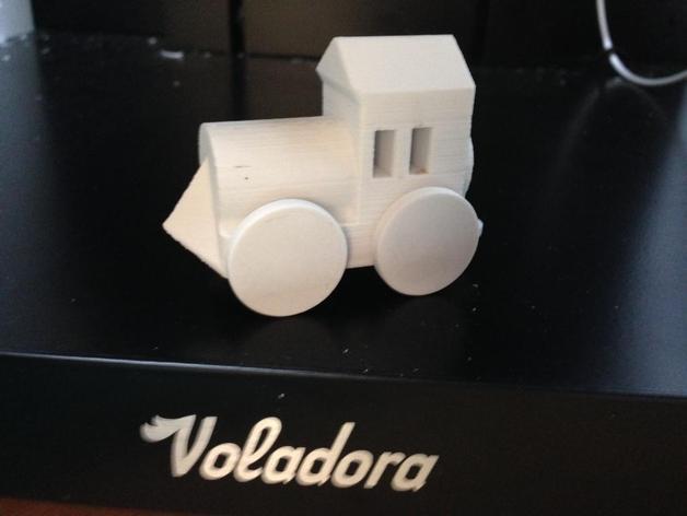 迷你玩具火车模型 3D模型  图2