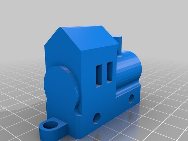迷你玩具火车模型 3D模型  图3