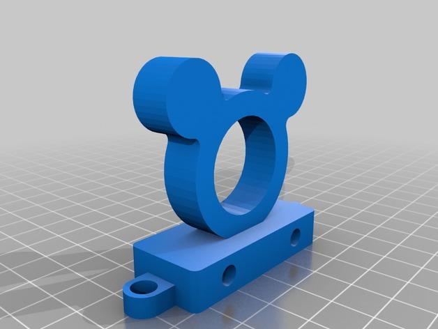 迷你玩具火车模型 3D模型  图4