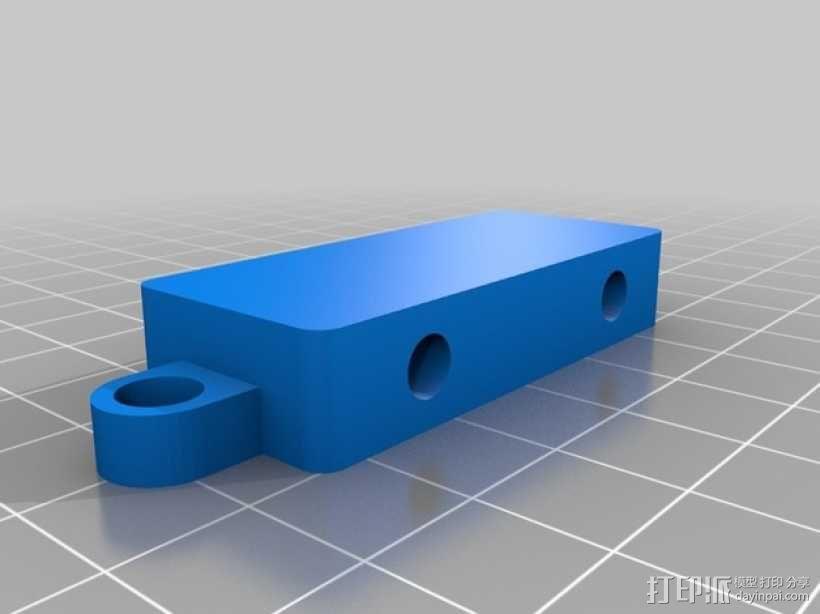 迷你玩具火车模型 3D模型  图5