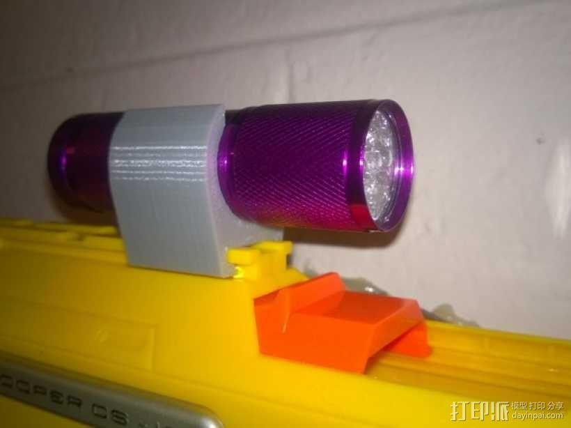 玩具火车灯头模型 3D模型  图1