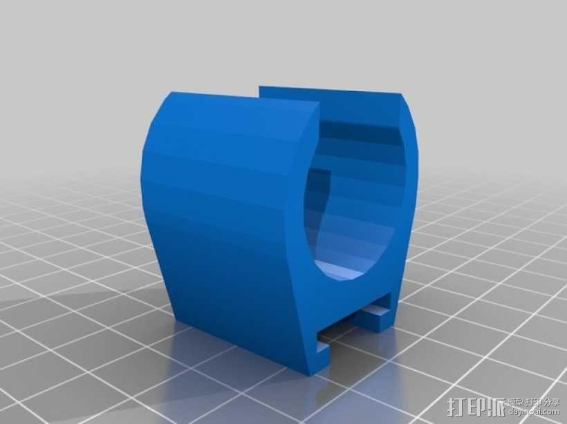 玩具火车灯头模型 3D模型  图3
