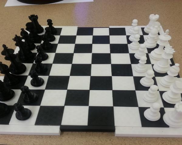 MakerLab象棋套件 3D模型  图1