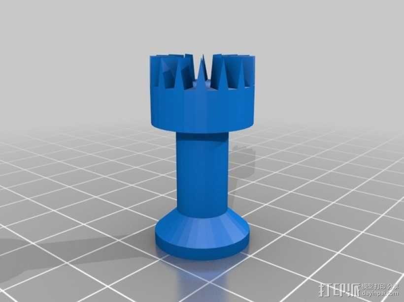 黑暗火焰象棋棋子 3D模型  图4