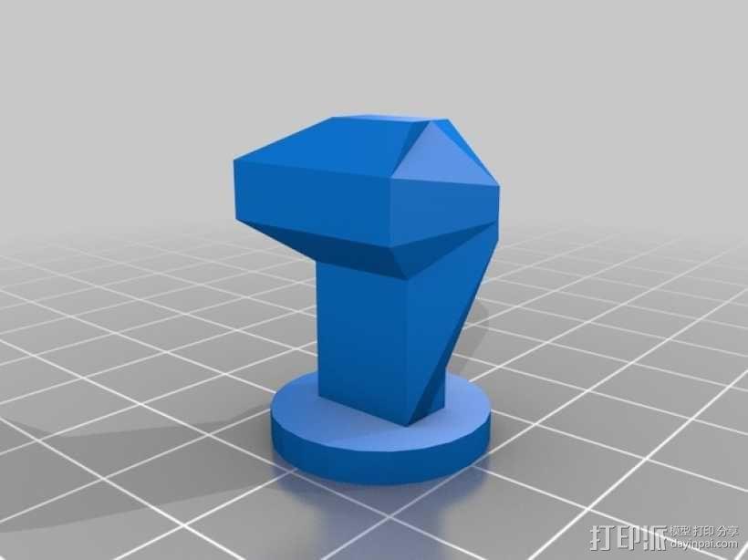 黑暗火焰象棋棋子 3D模型  图5
