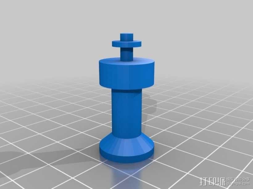 黑暗火焰象棋棋子 3D模型  图10