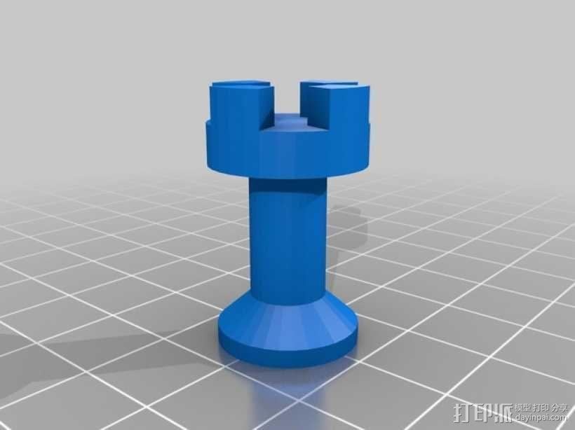 黑暗火焰象棋棋子 3D模型  图9