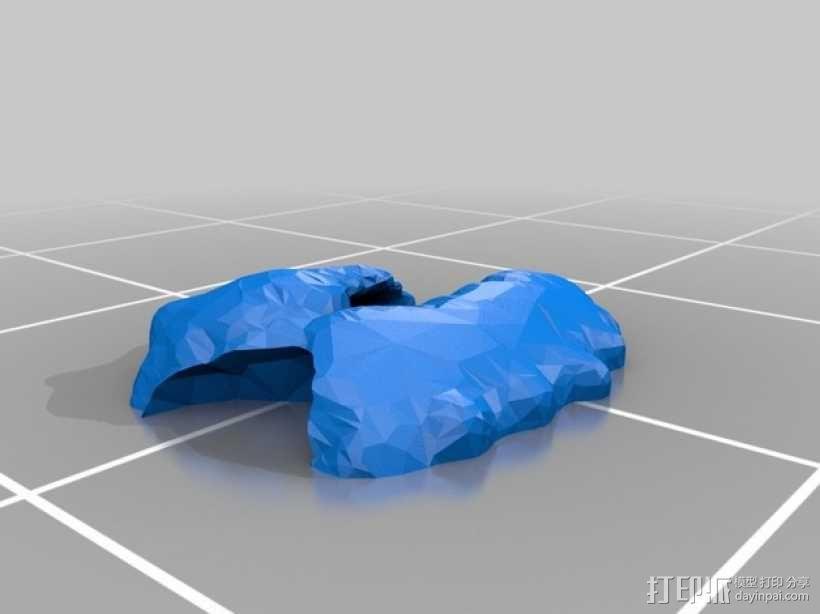 战锤40K:泰伦虫族灵化脑虫 3D模型  图8