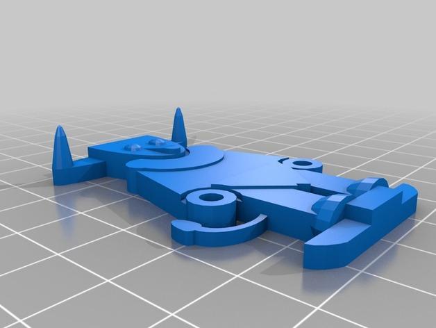 FlatMinis:弥诺陶洛斯牛头人 3D模型  图4