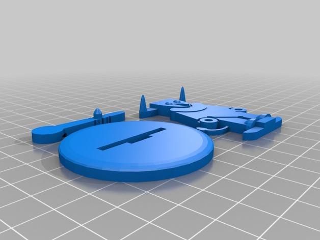FlatMinis:弥诺陶洛斯牛头人 3D模型  图5