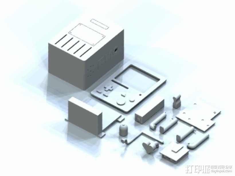 探险活宝BMO机器人模型 3D模型  图4