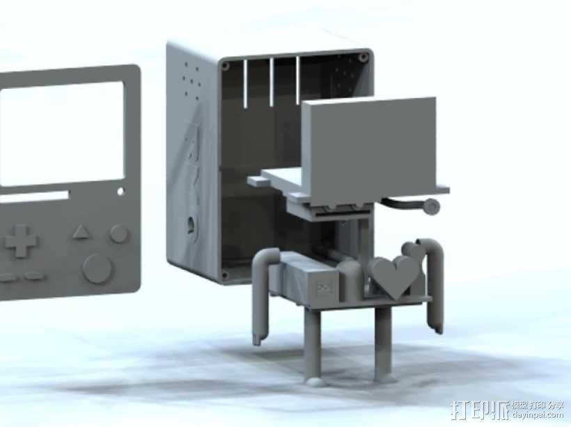 探险活宝BMO机器人模型 3D模型  图2