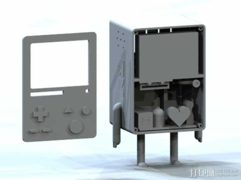 探险活宝BMO机器人模型 3D模型  图3