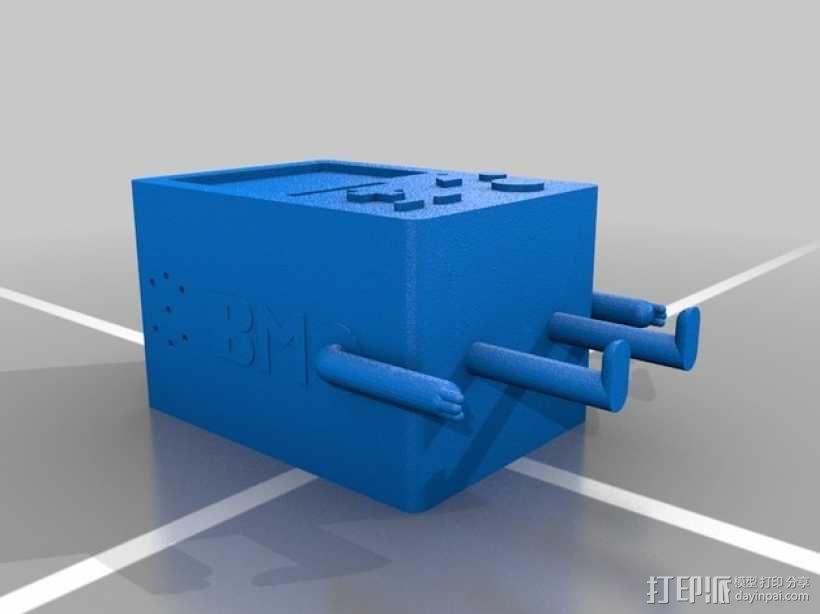 探险活宝BMO机器人模型 3D模型  图5