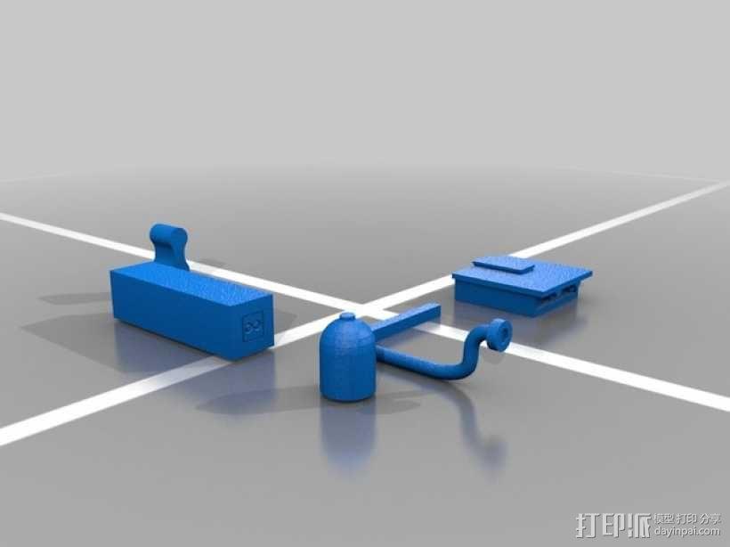 探险活宝BMO机器人模型 3D模型  图12