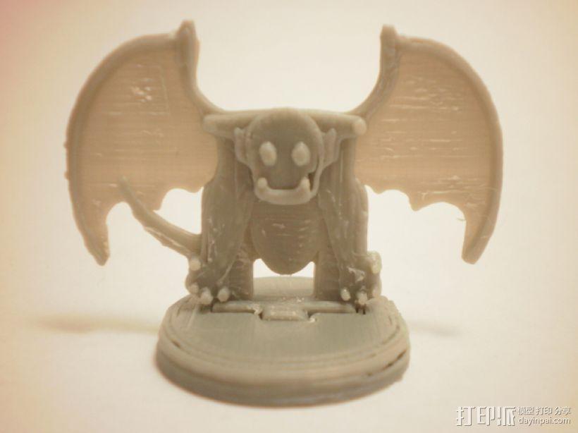 FlatMinis:石像鬼 3D模型  图1