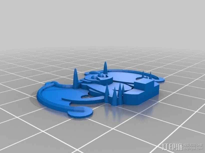 FlatMinis:石像鬼 3D模型  图2