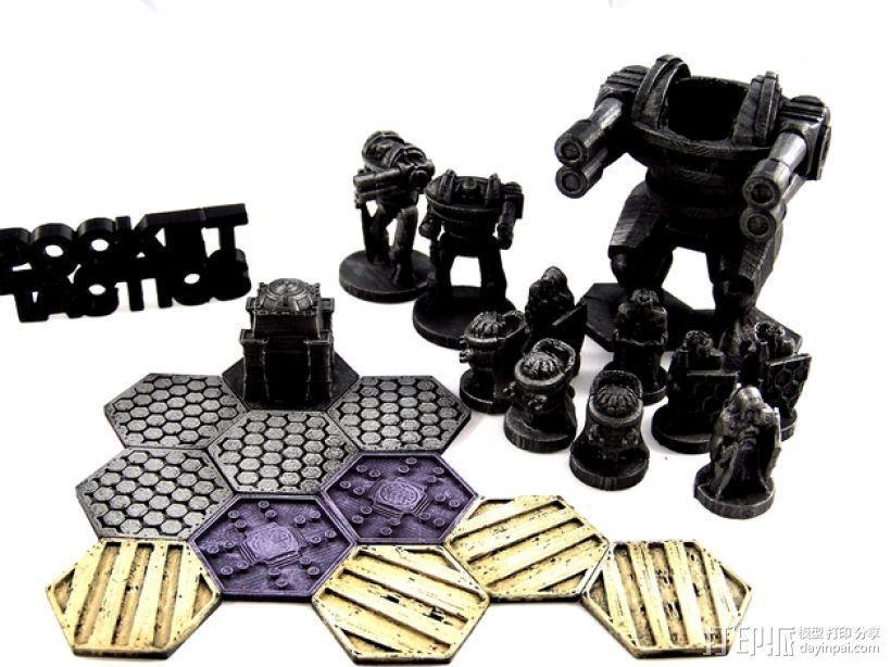 Pocket-Tactics:神圣骑士 3D模型  图1