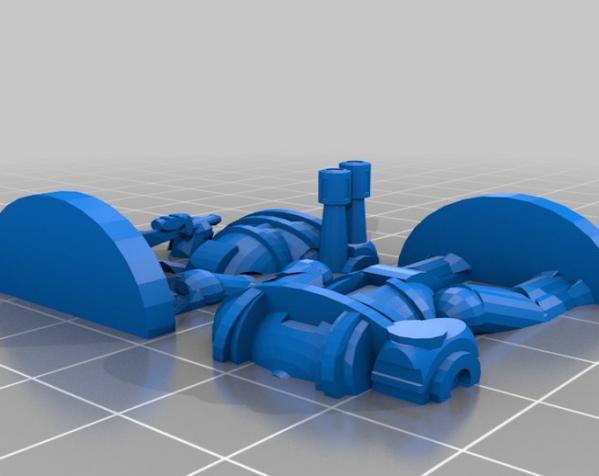 Pocket-Tactics:神圣骑士 3D模型  图6