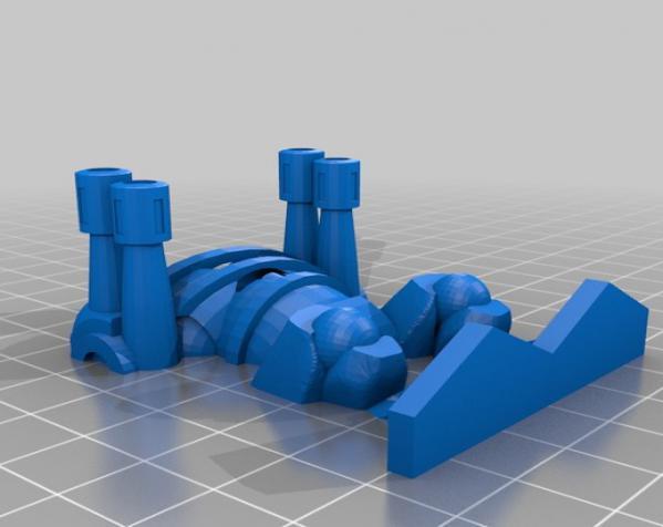 Pocket-Tactics:神圣骑士 3D模型  图7