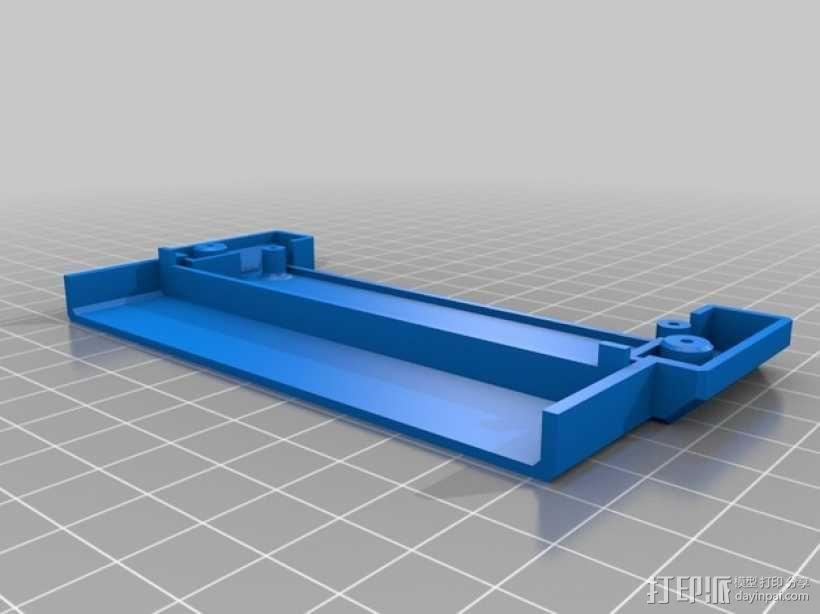 NES适配器外壳模型 3D模型  图2