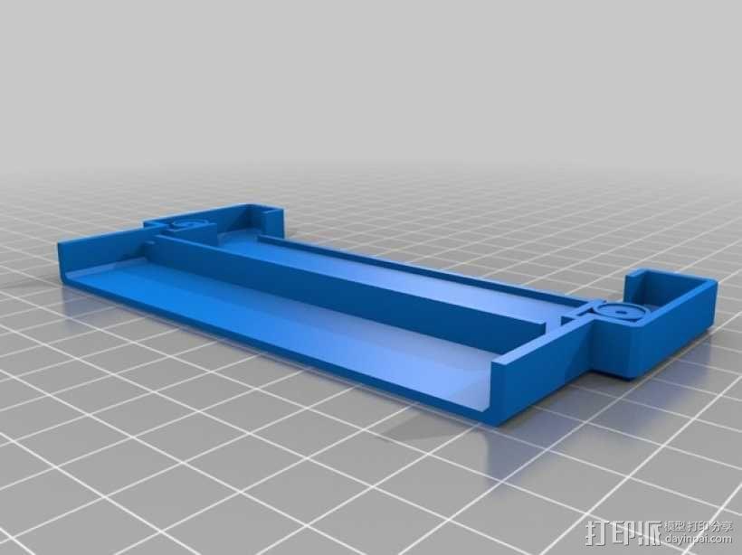 NES适配器外壳模型 3D模型  图3