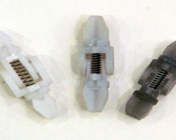 吸管做成的弹簧铰链 3D模型  图6