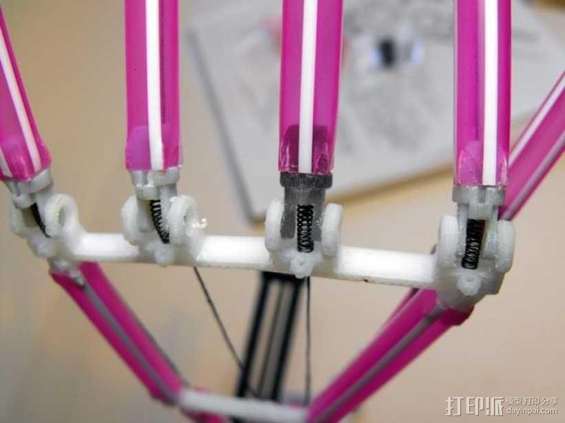 吸管做成的弹簧铰链 3D模型  图11