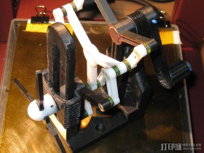 施密特偏心联轴器模型 3D模型  图4