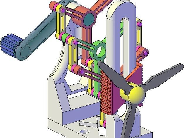 施密特偏心联轴器模型 3D模型  图1