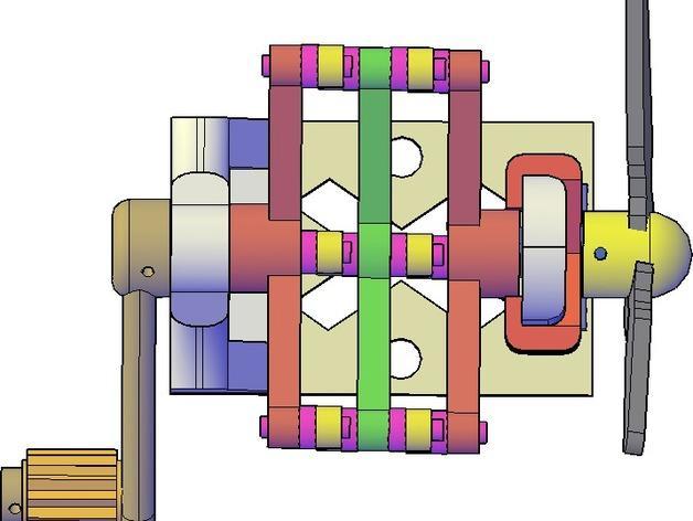 施密特偏心联轴器模型 3D模型  图3