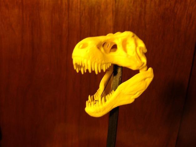 恐龙玩偶Rex模型 3D模型  图3