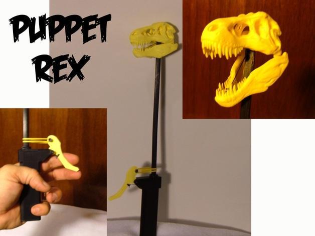 恐龙玩偶Rex模型 3D模型  图1