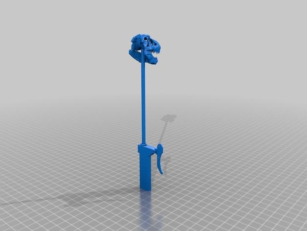 恐龙玩偶Rex模型 3D模型  图7