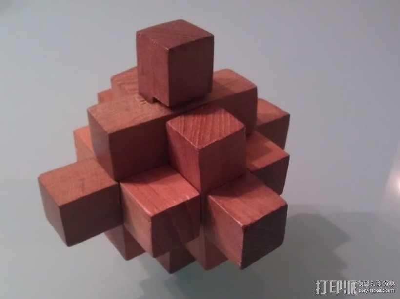 迷你日式宝塔模型 3D模型  图1