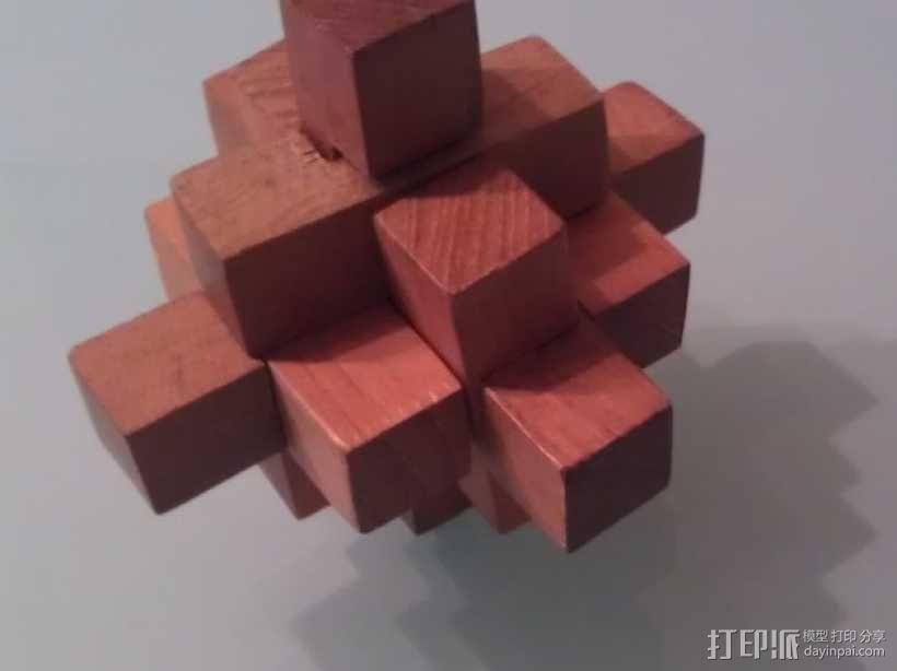 迷你日式宝塔模型 3D模型  图4