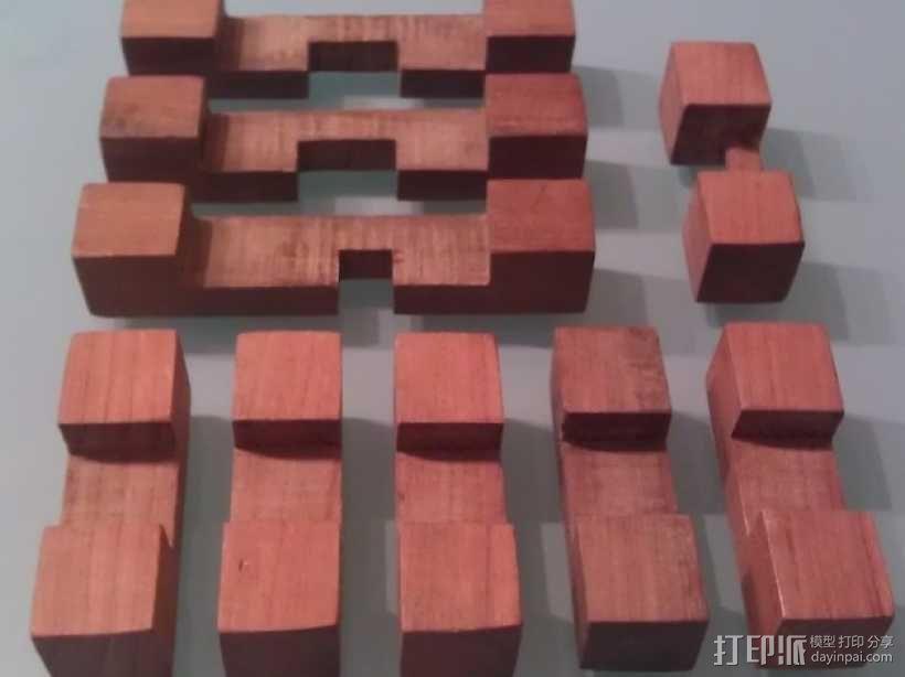 迷你日式宝塔模型 3D模型  图6