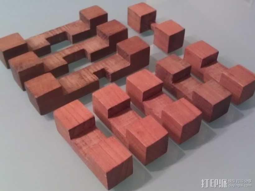 迷你日式宝塔模型 3D模型  图7