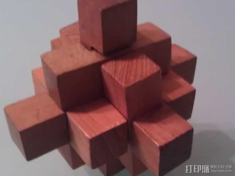 迷你日式宝塔模型 3D模型  图5