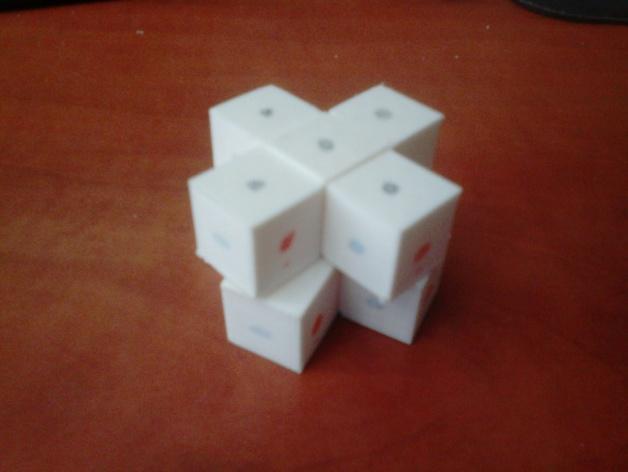 迷你十字立方体 3D模型  图5