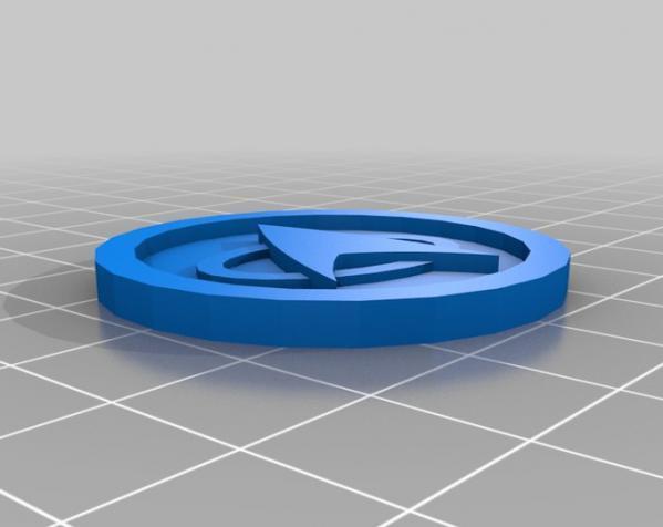 《英雄战棋》游戏筹码模型 3D模型  图3