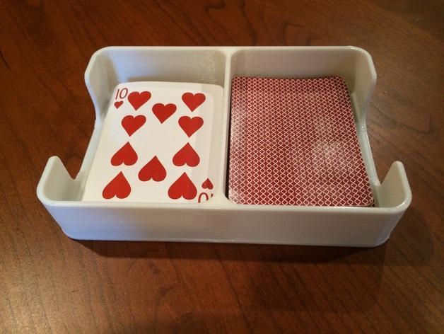 扑克牌收纳盒模型 3D模型  图3