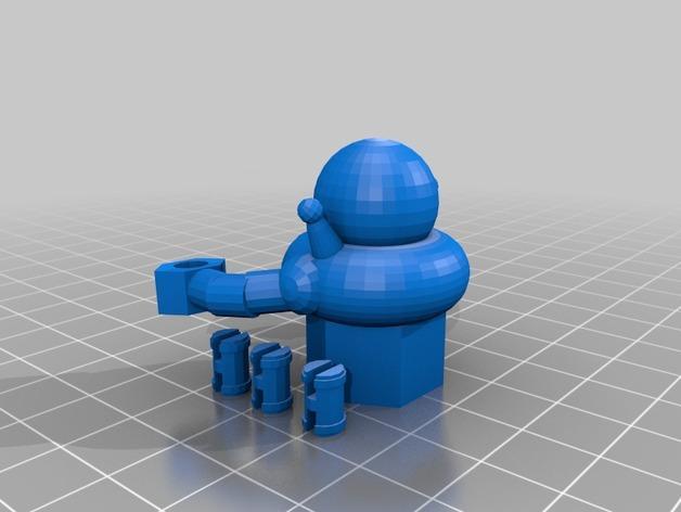 东京之王:Alienoid怪兽模型 3D模型  图4