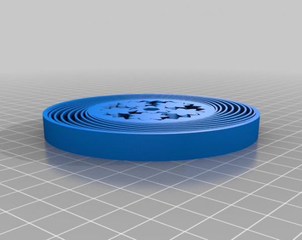 齿轮承轴的实心轮胎模型 3D模型  图2